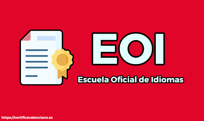 EOI-Escuela-Oficial-de-Idiomas-Examen-C1-Valenciano